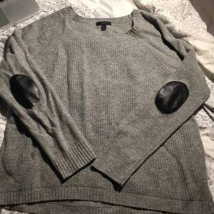 J. Crew Patch Sleeve Sweater